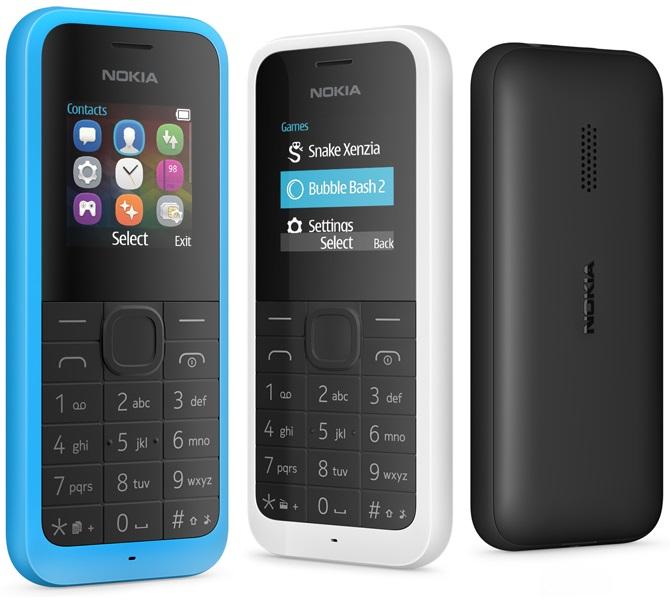 Сегодня в России поступил в продажу вариант Nokia 105 c двумя SIM-картами,  в голубом и черном цветах. Цена новинки составляет 1580 рублей. 8890df644e7